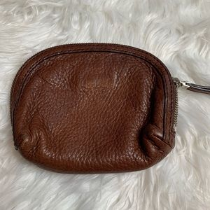 Banana Republic Brown Leather Coin Purse/Wallet